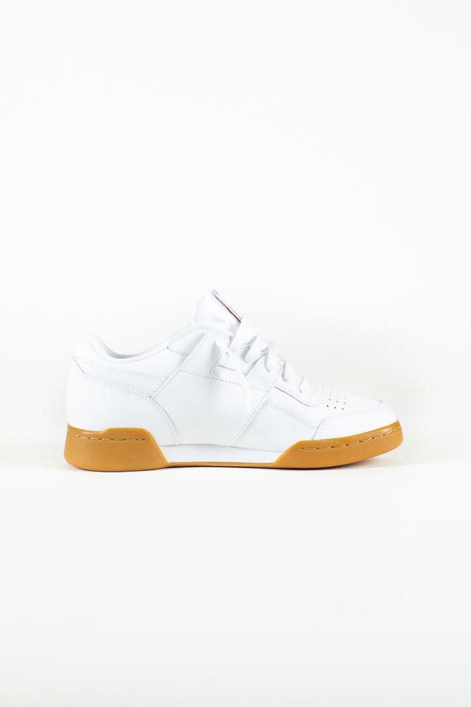 Reebok Workout Plus - White/Gum-6