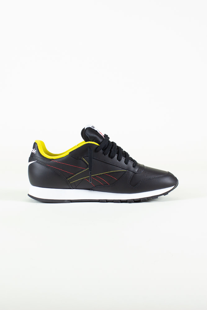 Reebok Classic Leather - Black/White/PriRed-5