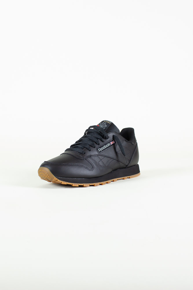 Reebok Classic Leather - Black/Gum-3
