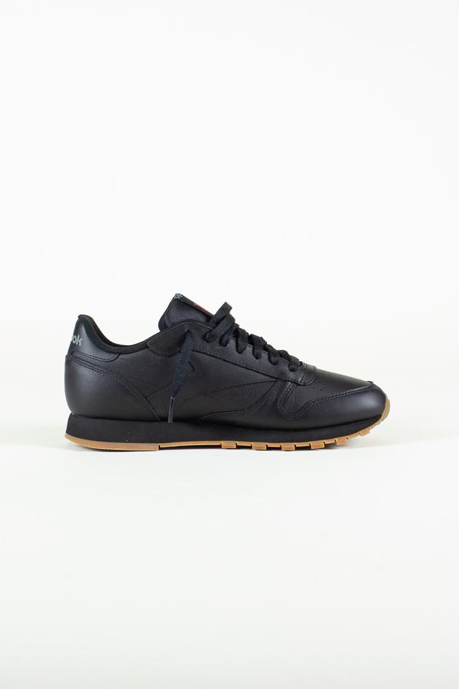 Reebok Classic Leather - Black/Gum-4