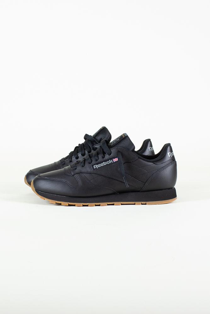 Reebok Classic Leather - Black/Gum-2
