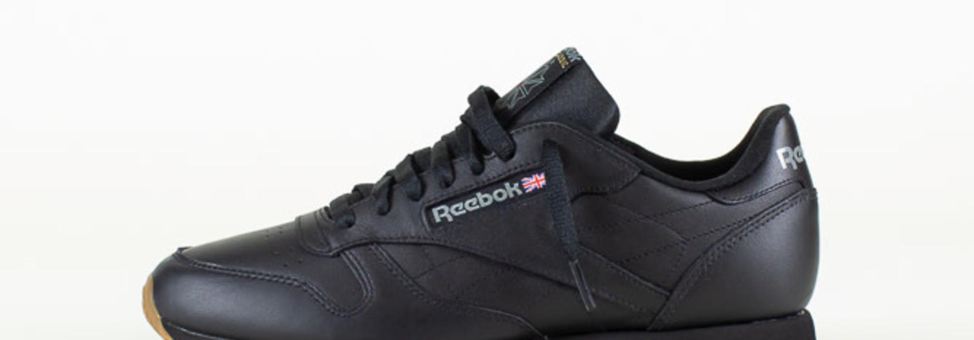 Reebok Classic Leather - Black/Gum