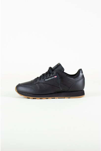 Reebok Classic Leather - Black/Gum