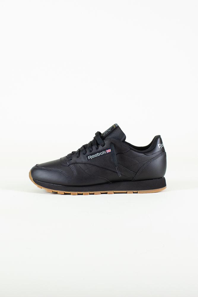 Reebok Classic Leather - Black/Gum-1
