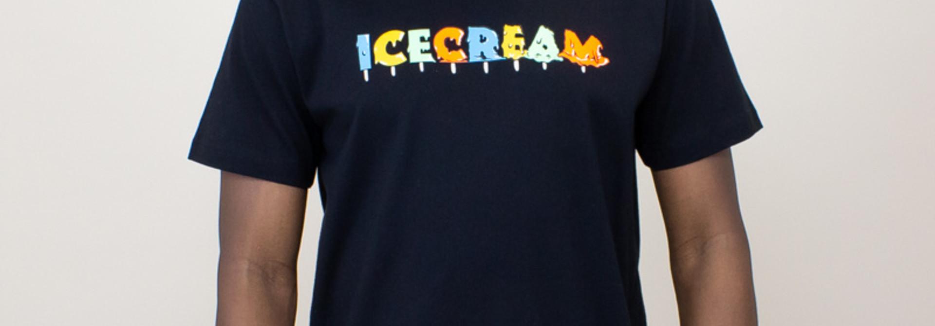 Icecream Drip S/S Tee - Black