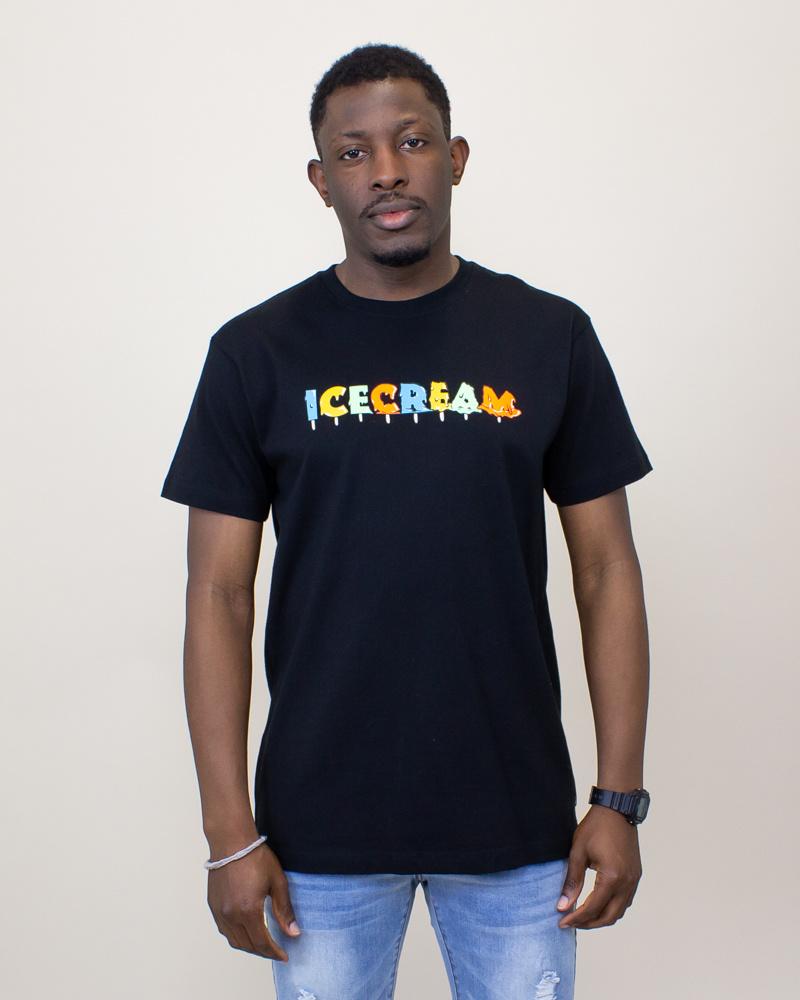 Icecream Drip S/S Tee - Black-1