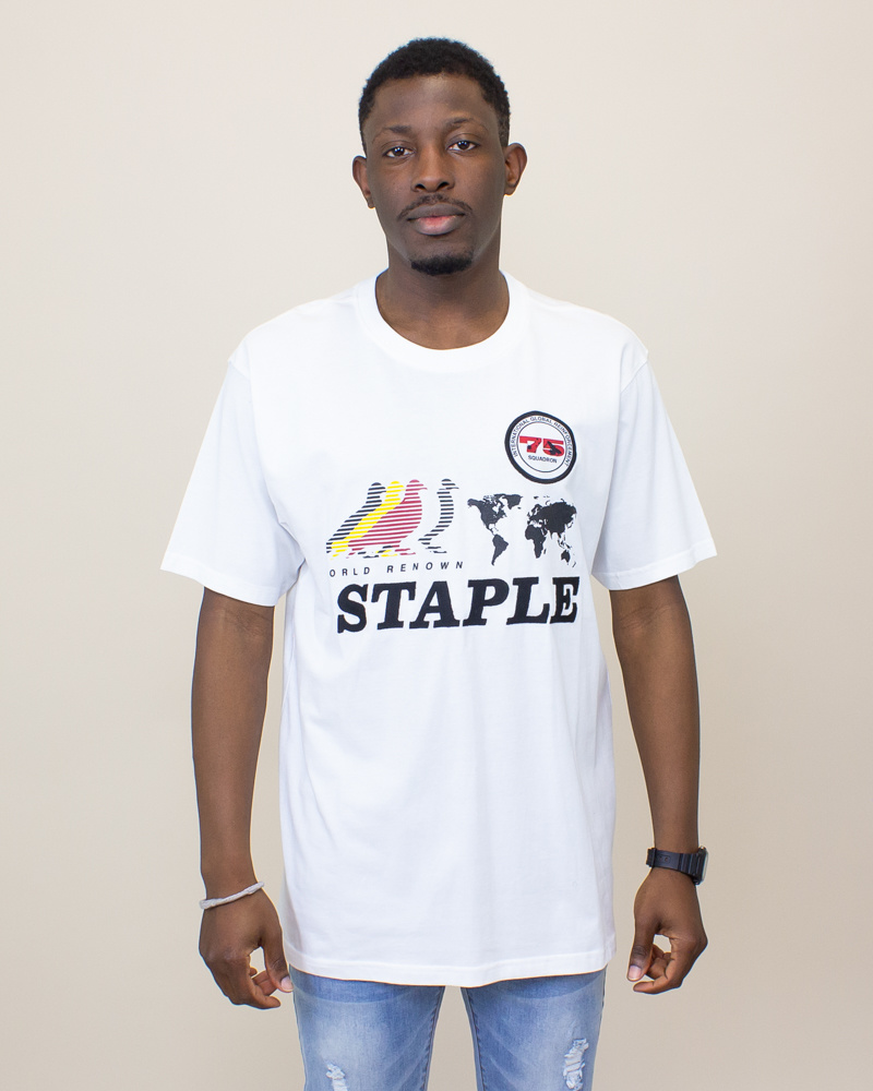 Staple Fly First Shirt - White-1