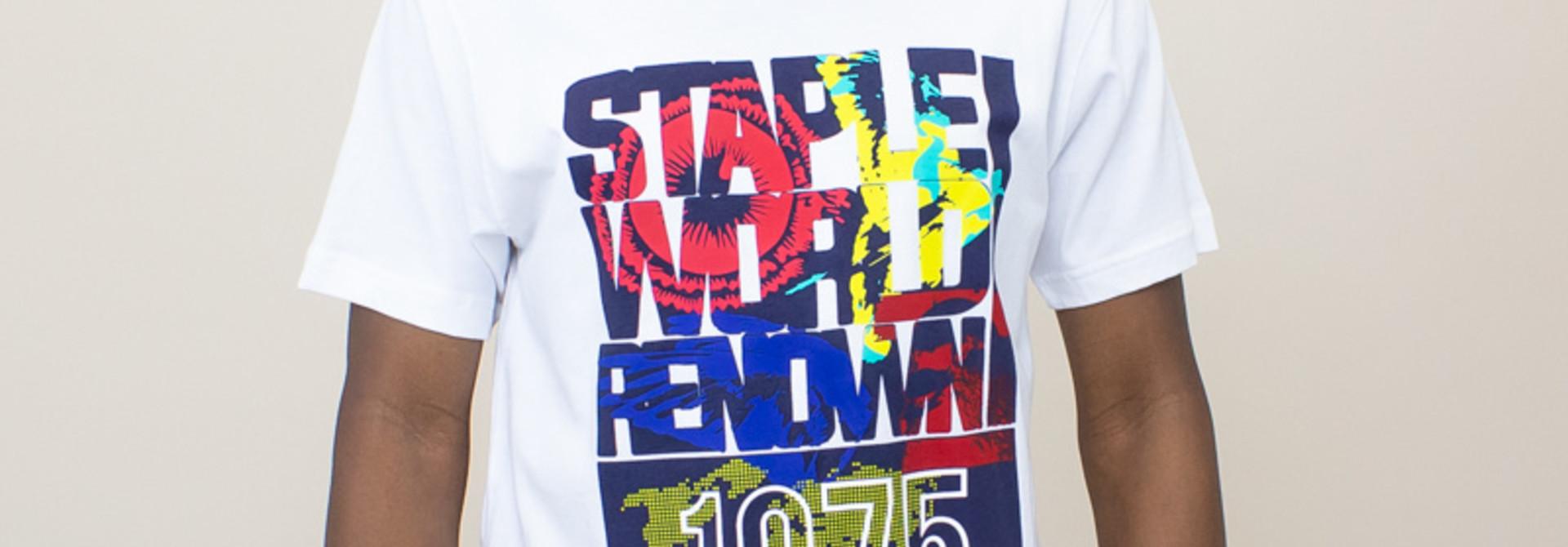 Staple World Renown Fill Shirt - White
