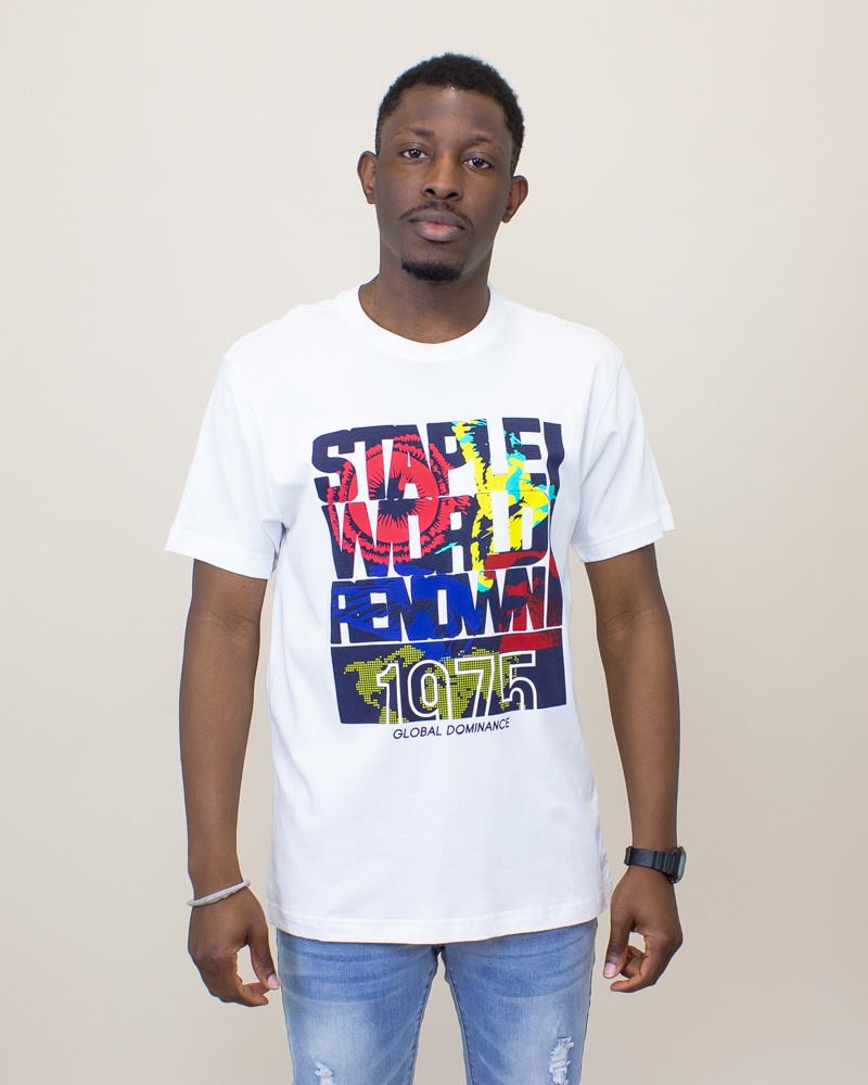 Staple World Renown Fill Shirt - White-1
