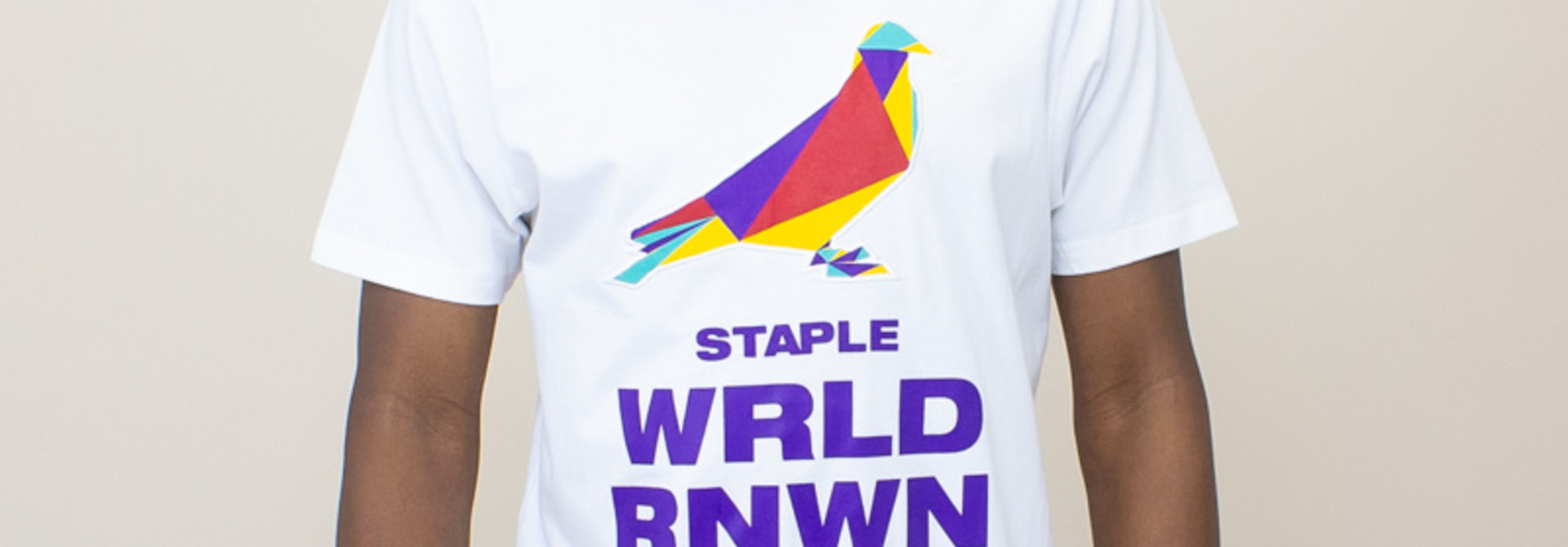 Staple W B P Tee - White