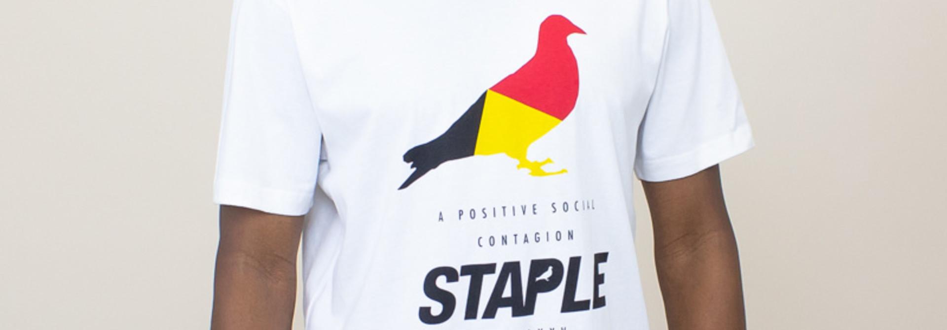 Staple Navigator Pigeon Shirt - White