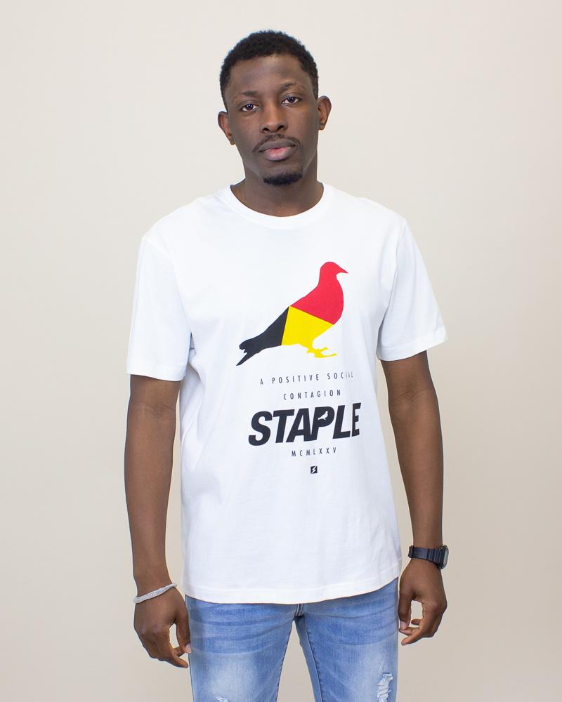 Staple Navigator Pigeon Shirt - White-1