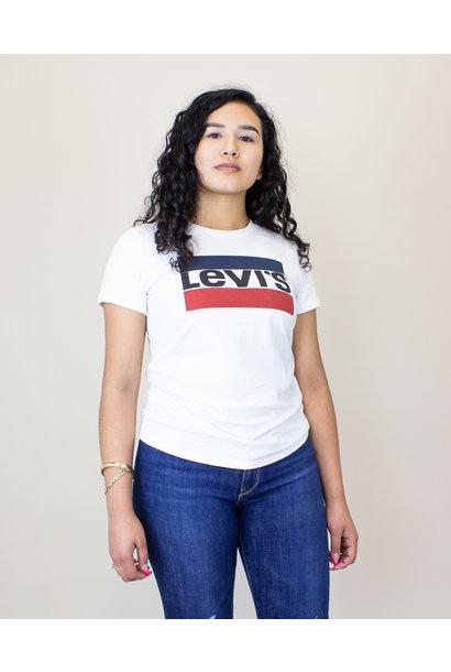 Levi's Sportswear Logo Graphic S/S T-Shirt - White