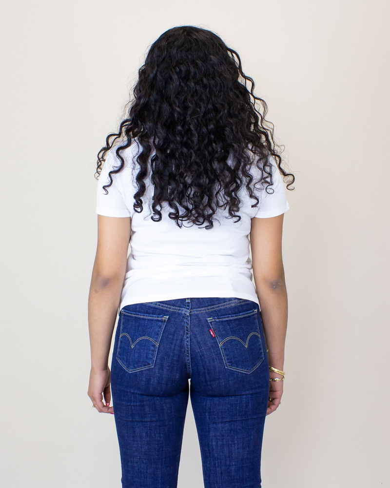 Levi's Logo Perfect S/S T-Shirt - White-2