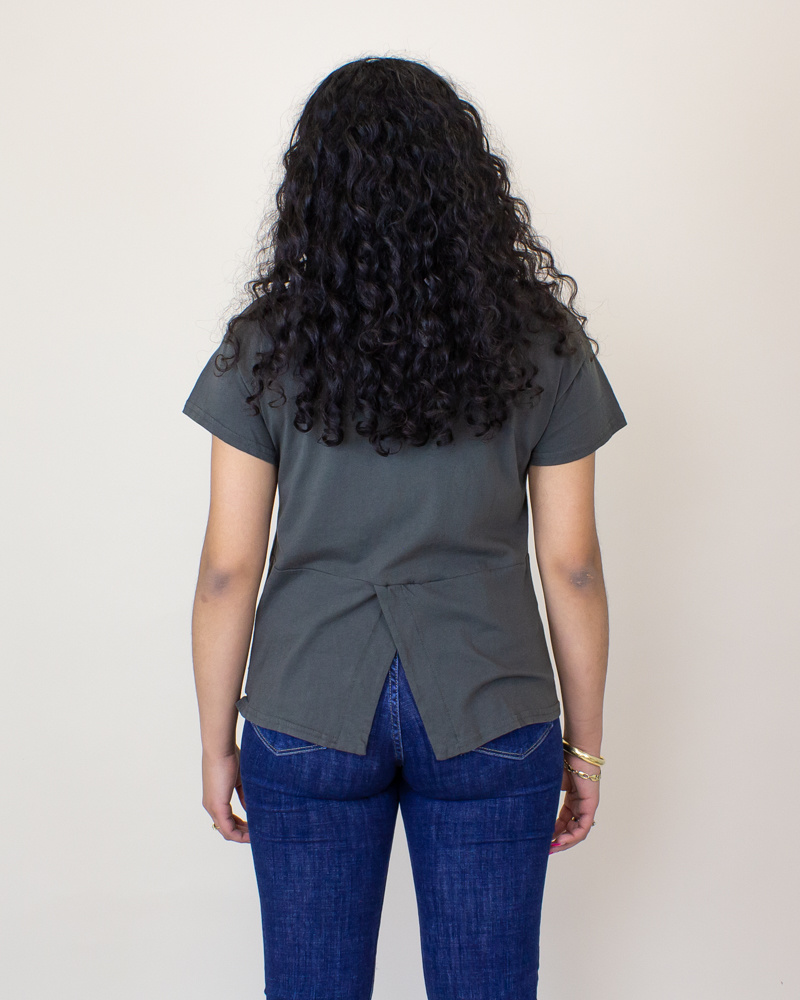 Comune Feelin' Good S/S T-Shirt - Charcoal-2