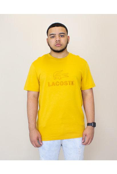 Lacoste Sport Tech T - Shirt - Yellow