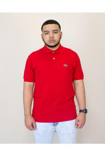 Lacoste Pique Polo Shirt - Red