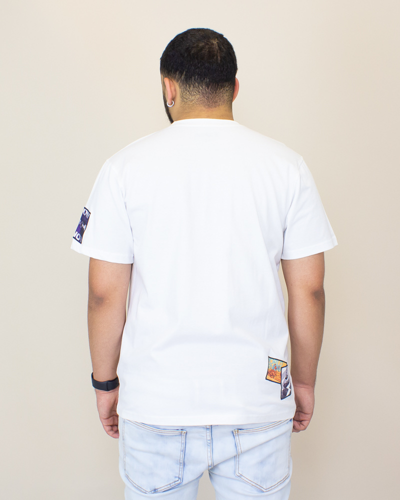 Staple Wrld Collage Photo Tee - White-2