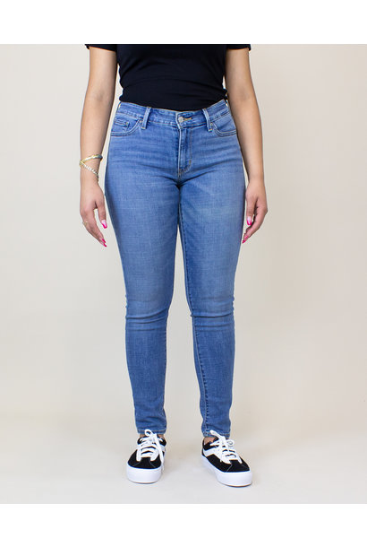 Levi's 711 Skinny Jeans - Indigo Rays/ Medium Wash