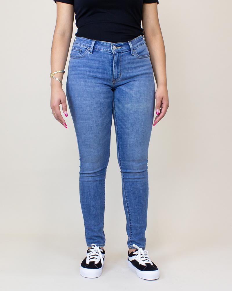 Levi's 711 Skinny Jeans - Indigo Rays/ Medium Wash-1