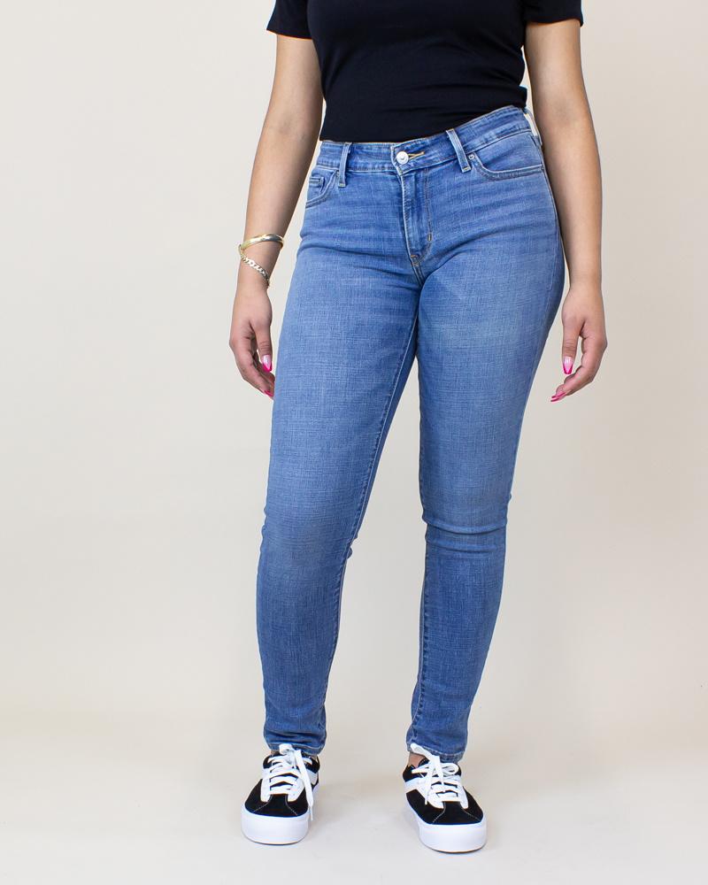 Levi's 711 Skinny Jeans - Indigo Rays/ Medium Wash-2