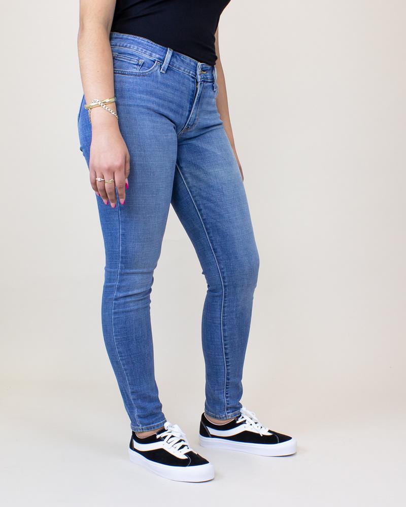 Levi's 711 Skinny Jeans - Indigo Rays/ Medium Wash-3