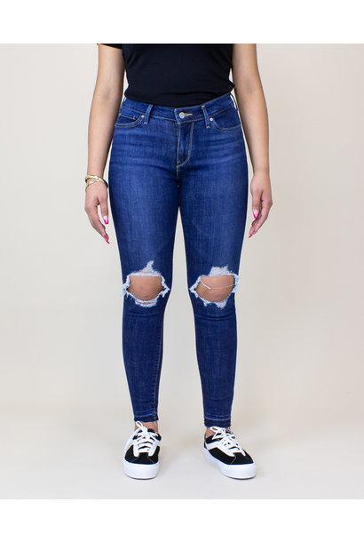 Levi's 711 Skinny Jeans - Maui Breeze
