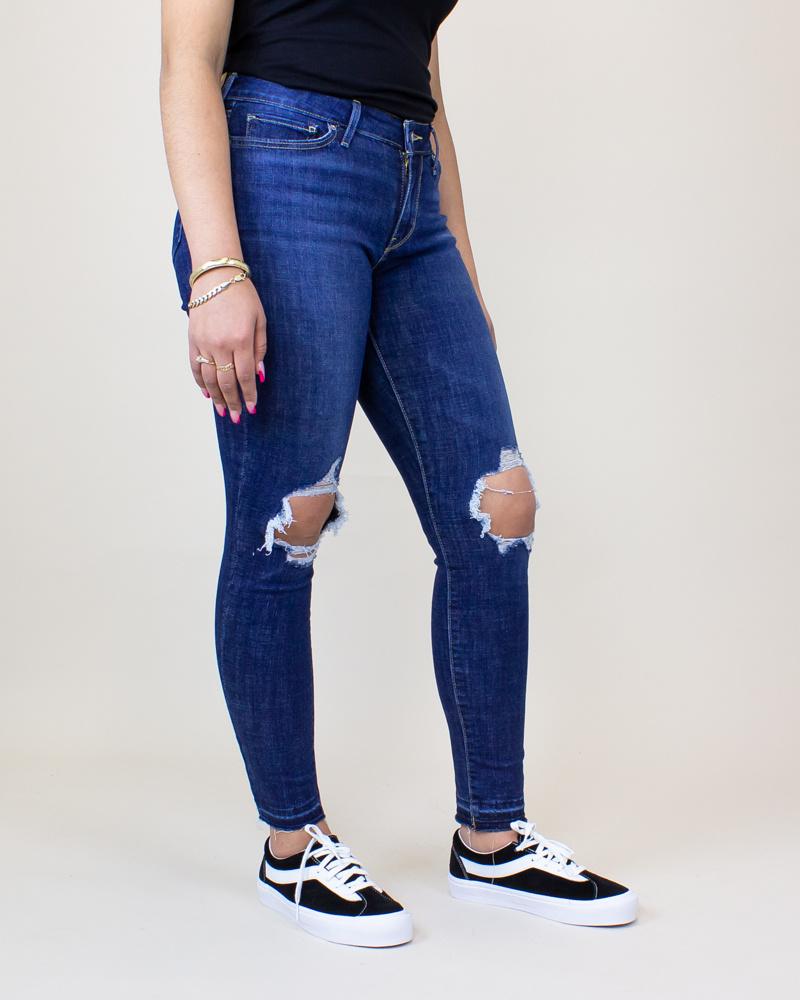 Levi's 711 Skinny Jeans - Maui Breeze-3