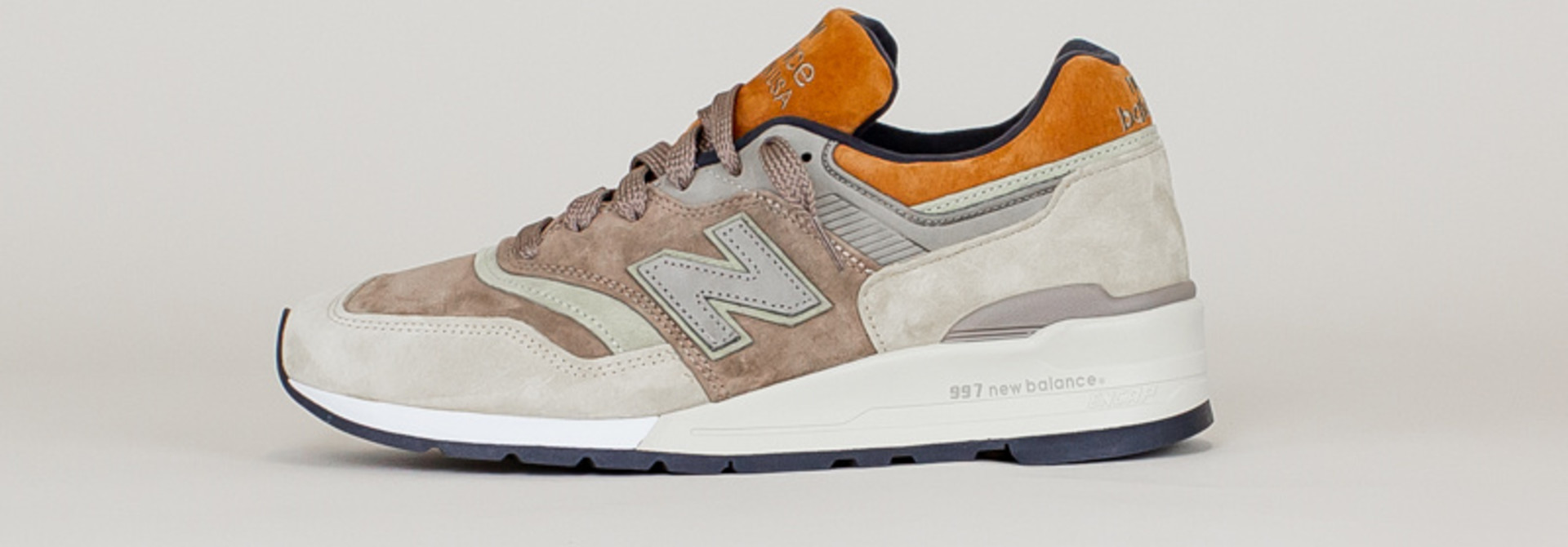 New Balance 997 NAJ - Tan/ Brown