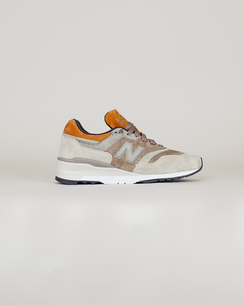 New Balance 997 NAJ - Tan/ Brown-4