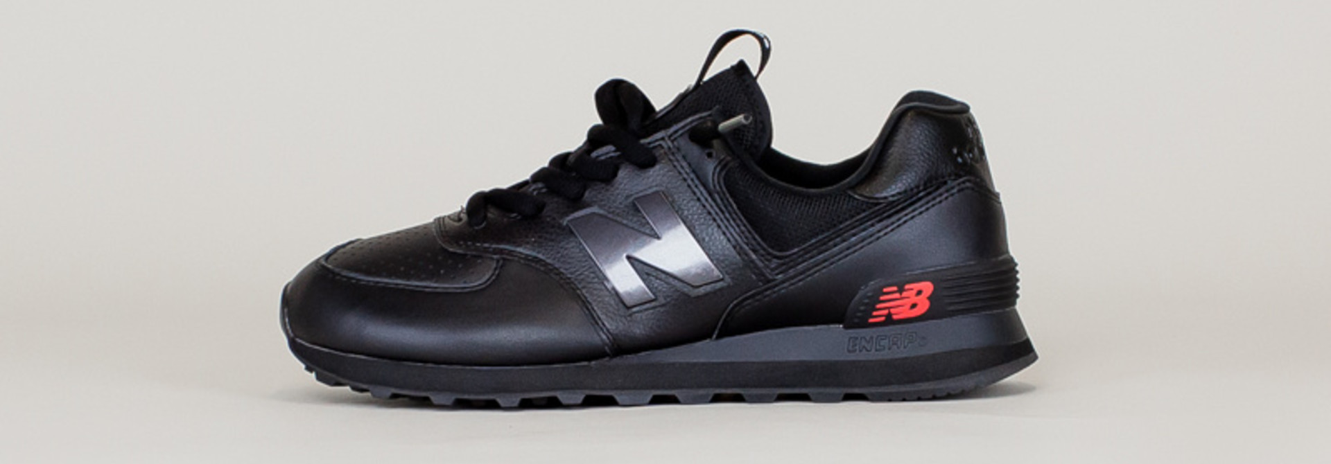 New Balance 574 SOW - Black/ Caviar