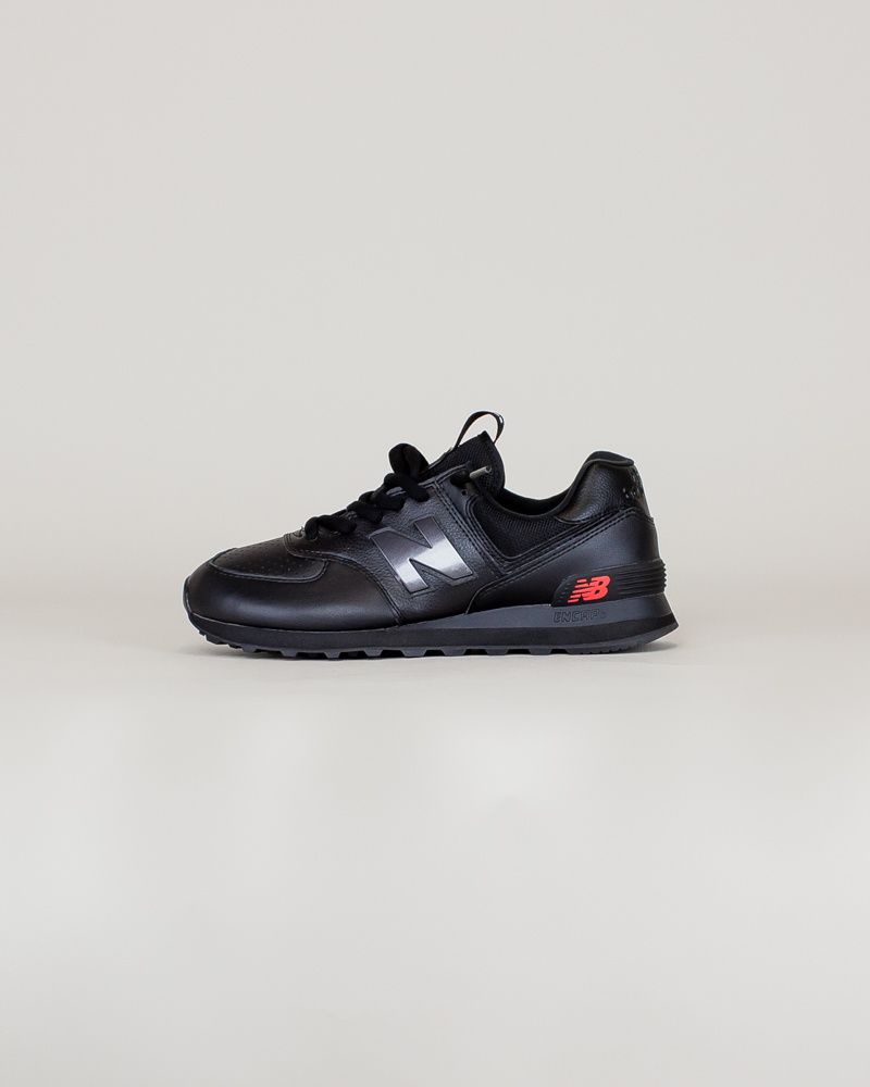 New Balance 574 SOW - Black/ Caviar-1