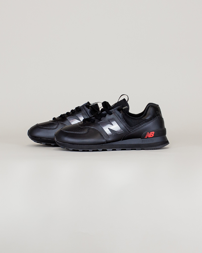 New Balance 574 SOW - Black/ Caviar-2