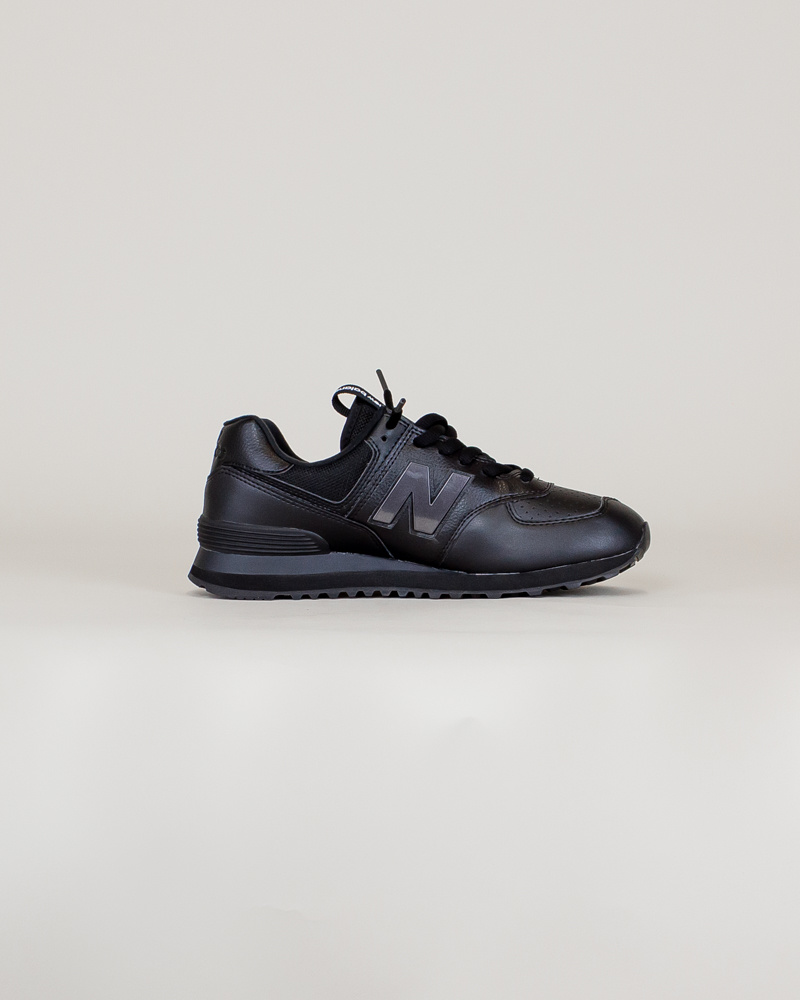 New Balance 574 SOW - Black/ Caviar-4