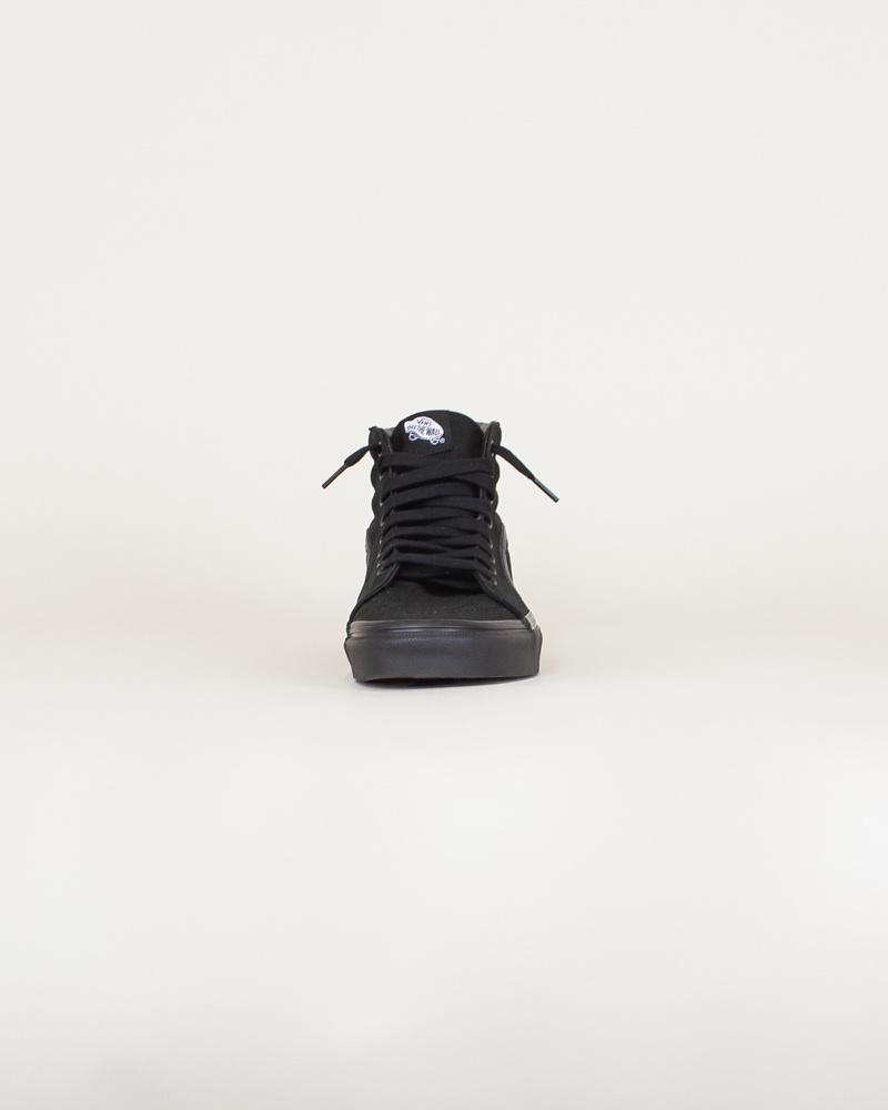 Vans Canvas Sk8-Hi - Black-5