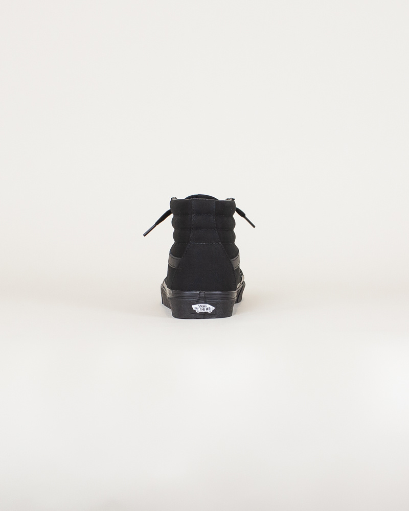 Vans Canvas Sk8-Hi - Black-6