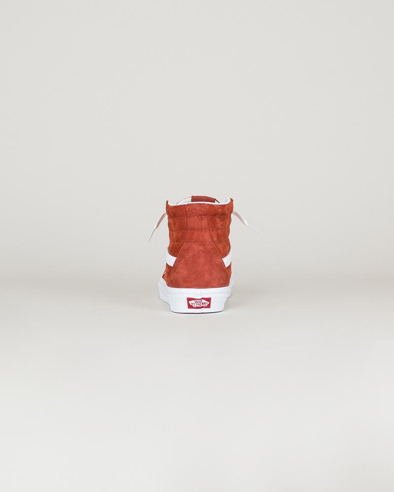 Vans Sk8-Hi - Pig Suede Burnt-6