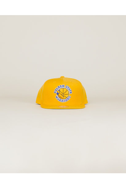 Mitchell & Ness Wool Solid Hat - Gold
