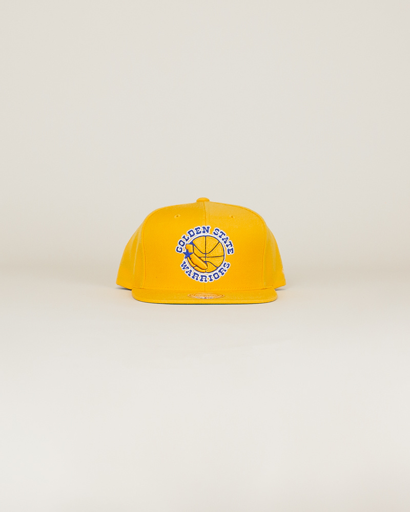 Mitchell & Ness Wool Solid Hat - Gold-1