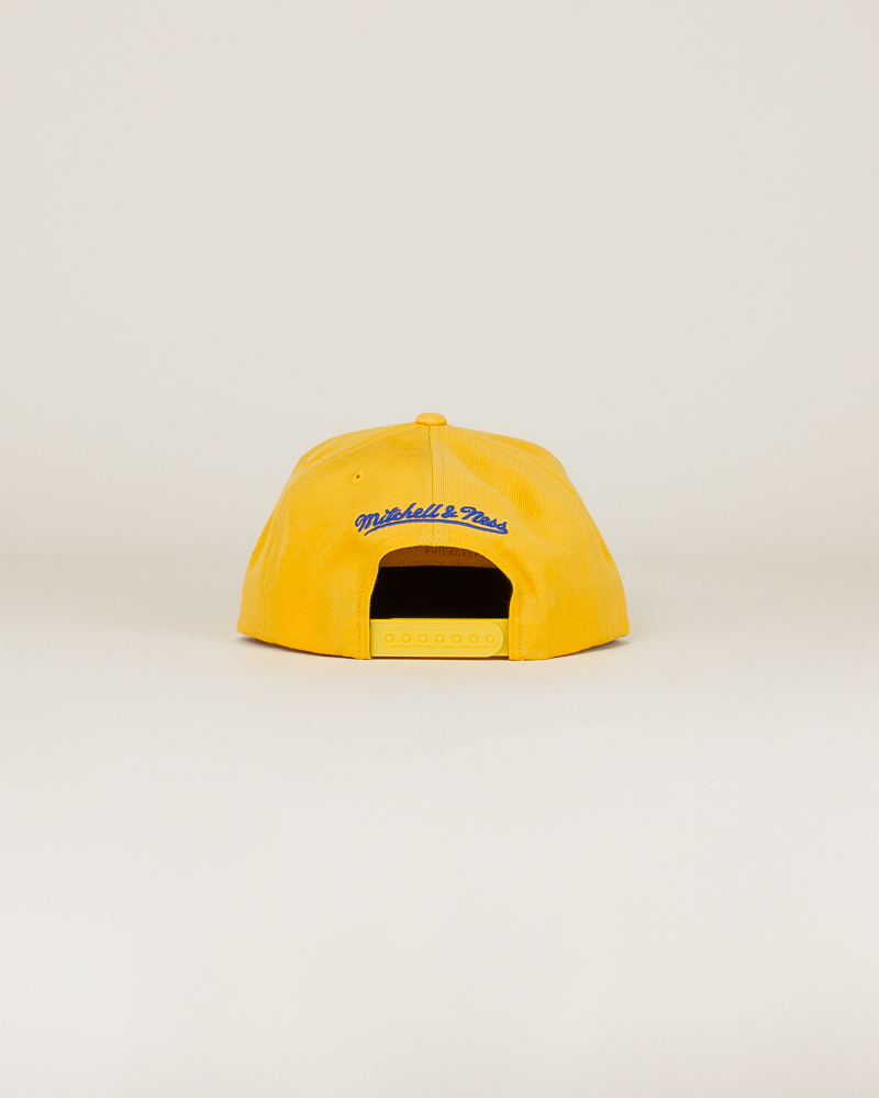Mitchell & Ness Wool Solid Hat - Gold-4