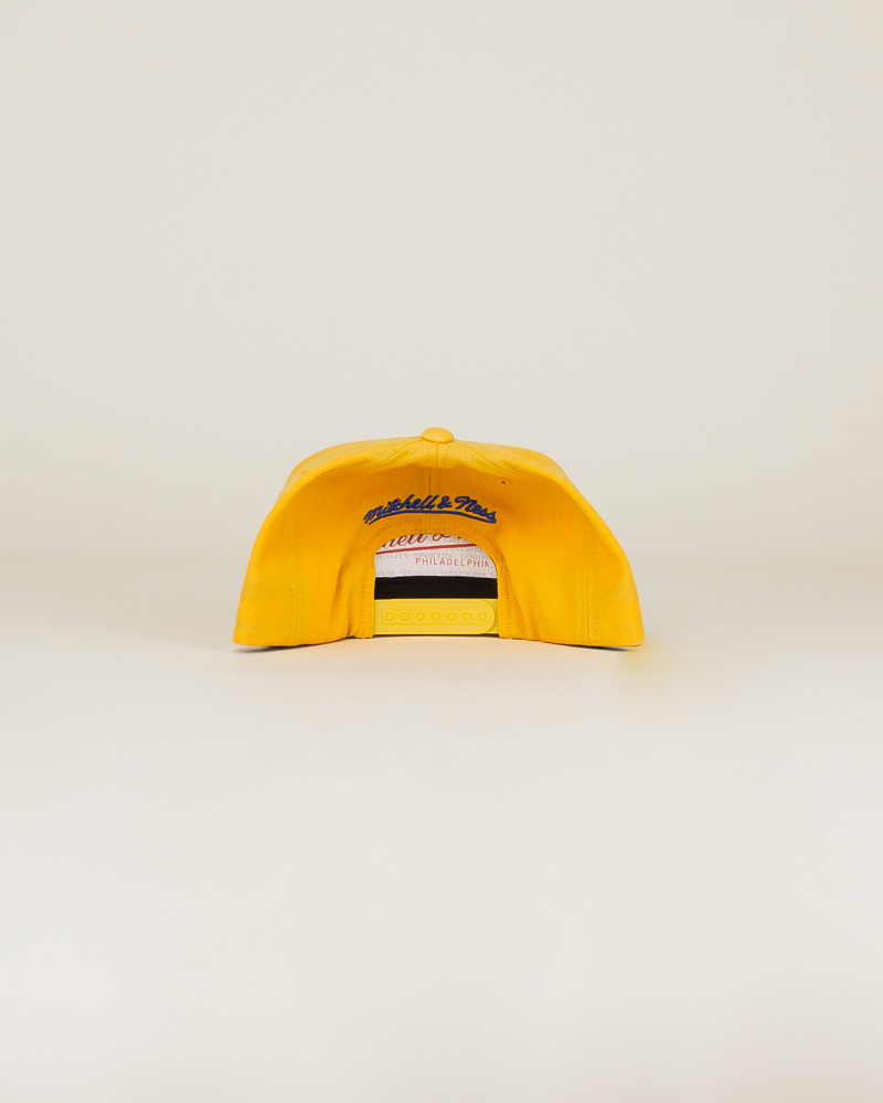 Mitchell & Ness Wool Solid Hat - Gold-5