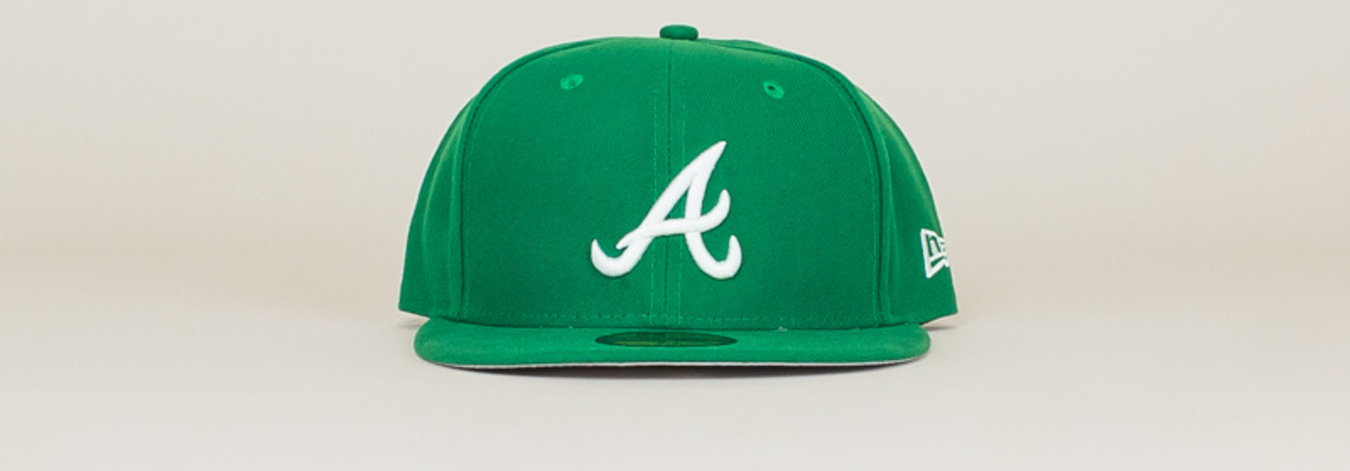 New Era Atlanta Braves Fitted Hat - Green