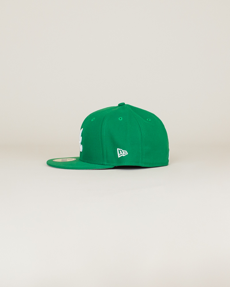 New Era Atlanta Braves Fitted Hat - Green-2