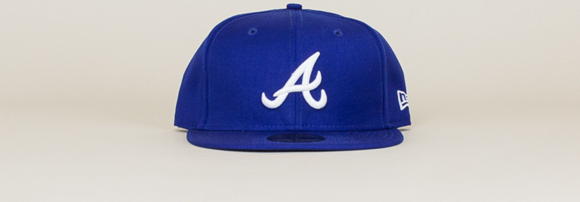 New Era Atlanta Braves Fitted Hat - Blue