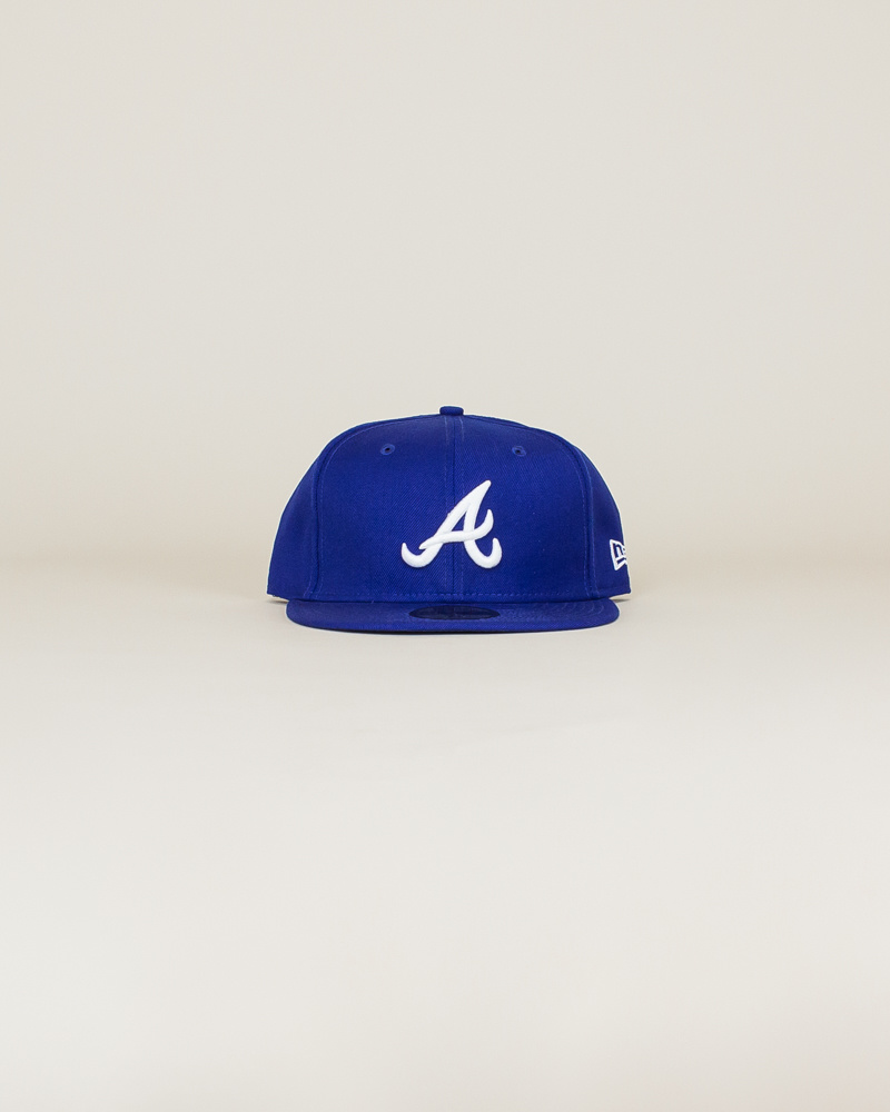 New Era Atlanta Braves Fitted Hat - Blue-1