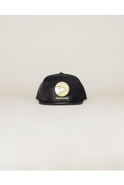 Mitchell & Ness Kevlar Hawks Hat - Black