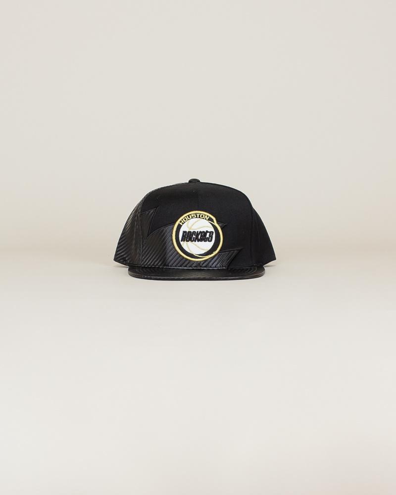 Mitchell & Ness Kevlar Houston Hat - Black-1