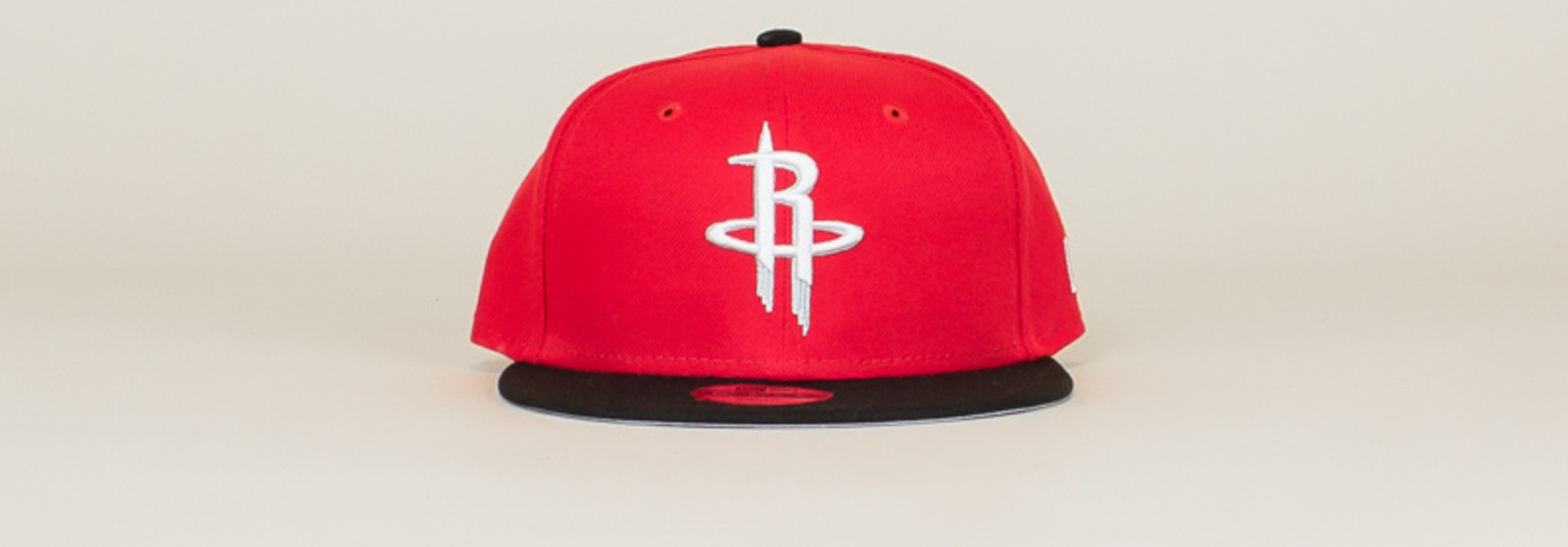 New Era Houston Rockets Snapback Hat - Red
