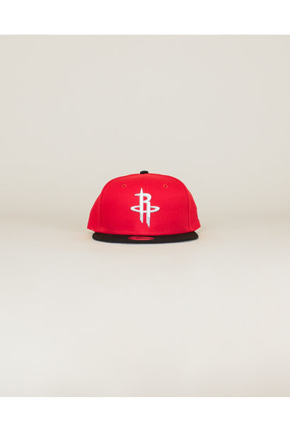 New Era Youth Houston Rockets Snapback - Red