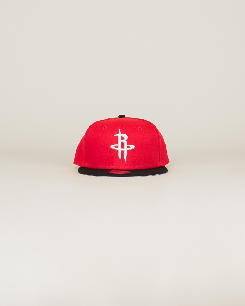 New Era Houston Rockets Snapback Hat - Red-1